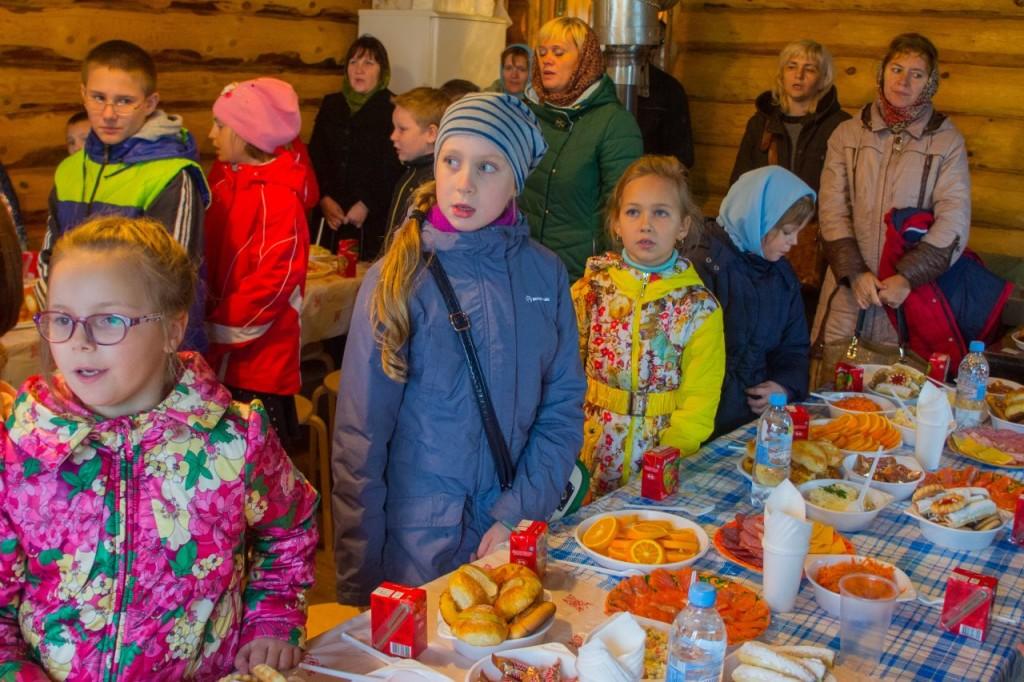 Престольный праздник в селе Богородское